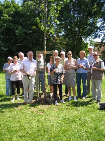Jubiläumsbaum 25 Jahre UWG 2009