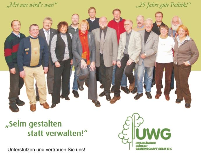 UWG Wahlprogramm 2009