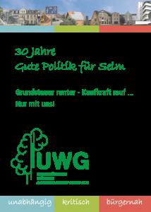 Titel UWG Wahlprogramm 2014