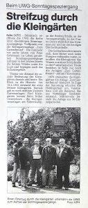 Sonntagsspaziergang Ruhr Nachrichten vom 03.06.2000
