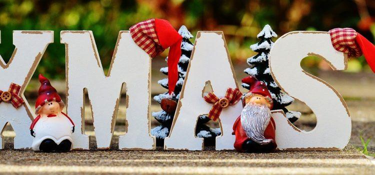 Fröhliche Weihnachten und einen guten Rutsch ins neue Jahr 2019!