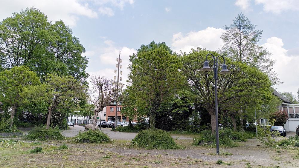 Marktplatz in Bork
